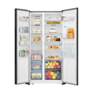 Picture of HISENSE SIDE BY SIDE FRIDGE RS686N4AWU (620L/ WHITE)