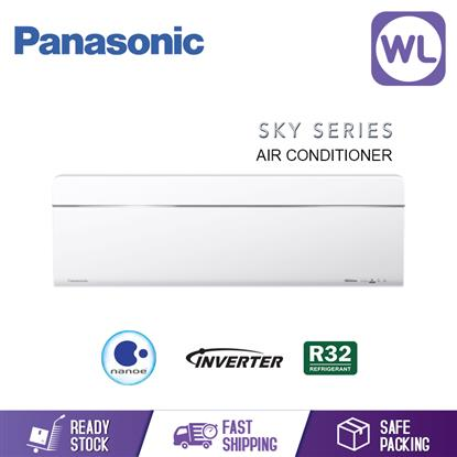 Picture of Panasonic Aircond Skyseries Inverter R32 CS-VU10UKH_1HP