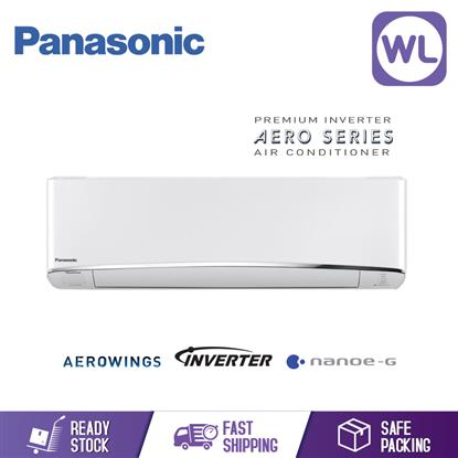 Picture of Panasonic R410A Premium Inverter Aircond CS-S10TKH_1HP