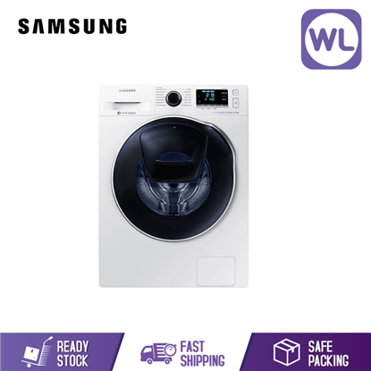 Picture of Samsung Eco Bubble Washer 8KG/6KG Dryer WD80K6410OW/FQ