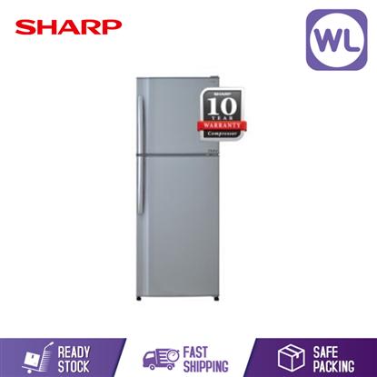 Picture of Sharp 2 Door Fridge SJ353TSL (320L)