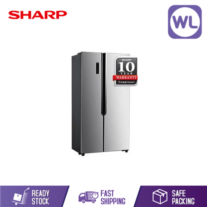 Picture of Sharp Side By Side Refrigerator SHP-SJX508MS