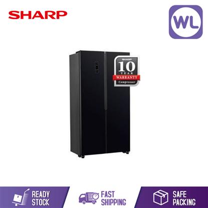 Picture of Sharp Side By Side Refrigerator SHP-SJX518GK