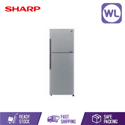 Picture of Sharp Smile Series 2 Door Refrigerator SJ285MSS (280L)