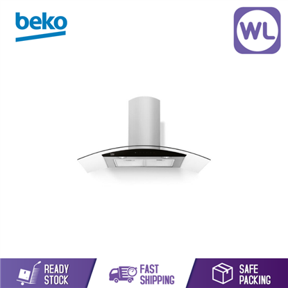 Picture of Beko Hood HCG92940B (Wall Mounted - Glass Design 90CM)