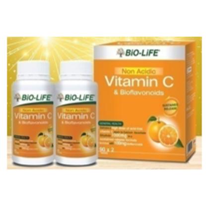 Picture of Bio-Life Non-Acidic Vitamin C & Bioflavonoids