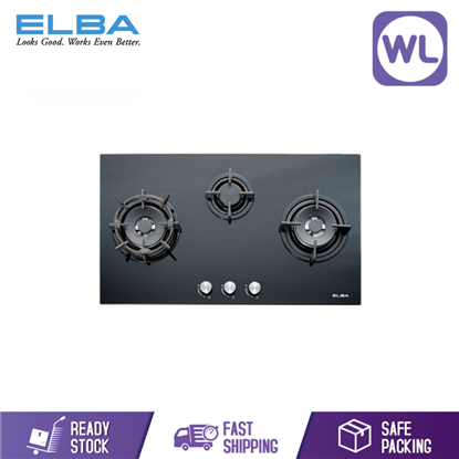 Picture of Elba Built In Glass Hob EGH-E9523G (GREY)