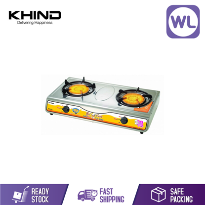 KHIND GAS COOKER IGS-1515S S/STEEL的图片