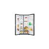 Picture of LG SIDE BY SIDE FRIDGE GC-C247UGBM (675L/ BLACK GLASS)