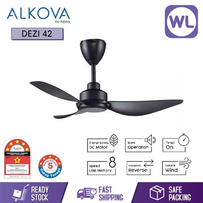 Picture of ALKOVA CEILING FAN DEZI 42 BLK
