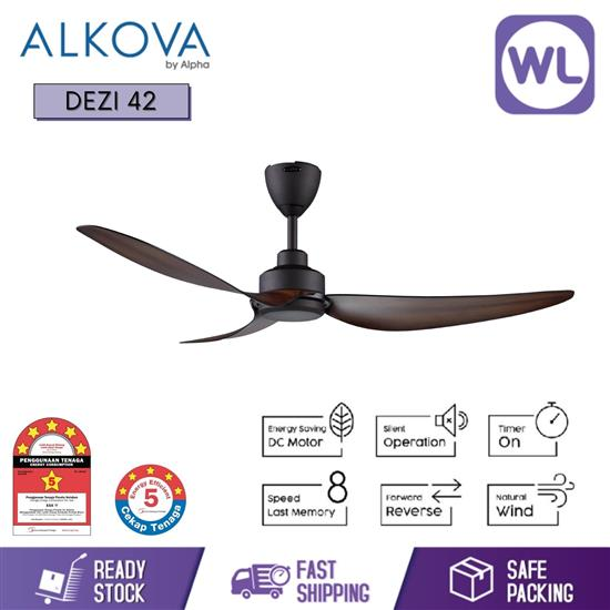 Picture of ALKOVA CEILING FAN DEZI 42 ORB