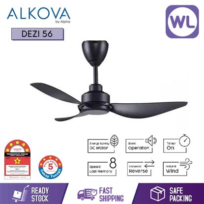 Picture of ALKOVA CEILING FAN DEZI 56 BLK