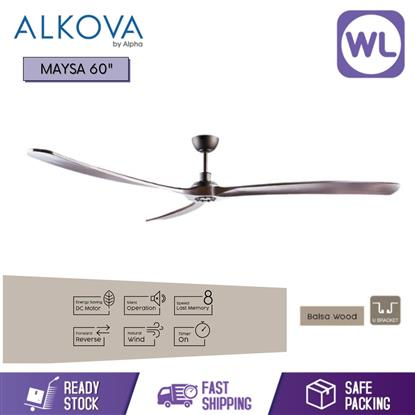 Picture of ALKOVA CEILING FAN MAYSA 60 ORB