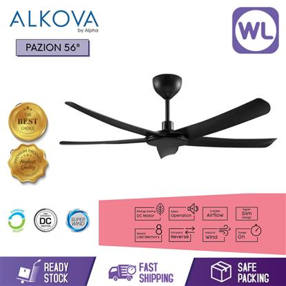 Picture of ALKOVA CEILING FAN PAZION 56 BLK