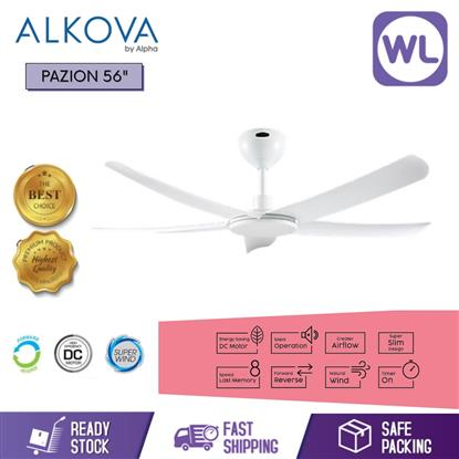 Picture of ALKOVA CEILING FAN PAZION 56 WHT