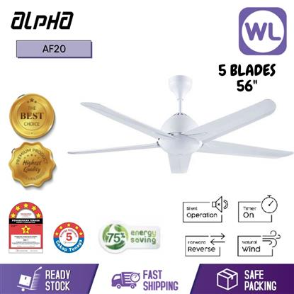 Picture of ALPHA CEILING FAN AF20-5B/56 WHITE