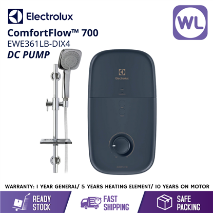Picture of ELECTROLUX HOME SHOWER EWE361LB-DIX4 (DC PUMP/ BLUE)