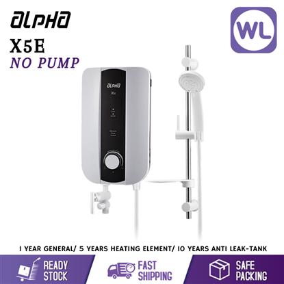 Picture of ALPHA HOME SHOWER X5E (NO PUMP/ WHITE)