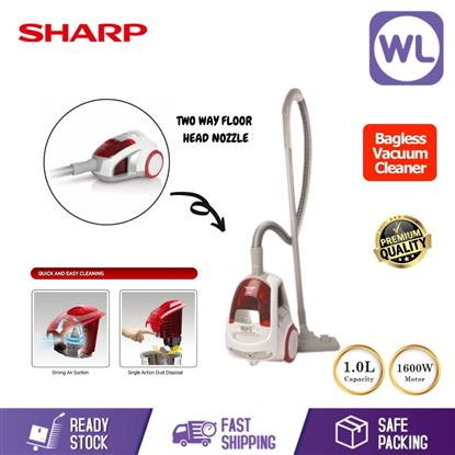 Picture of SHARP BAGLESS VACUUM CLEANER ECNS16R