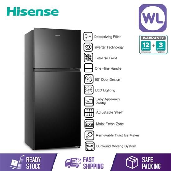 Picture of HISENSE 2 DOOR INVERTER RT486N4FBV (450L)