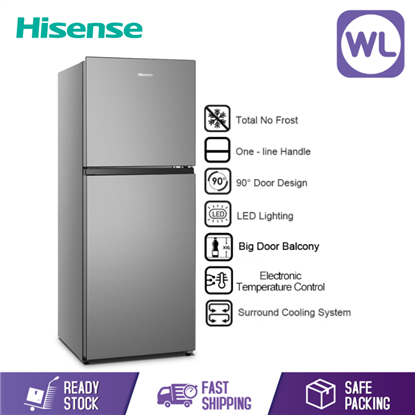 Picture of HISENSE 2 DOOR FRIDGE RT266N4CGN (240L)