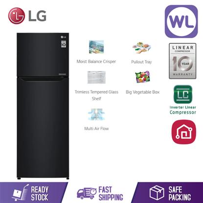 Picture of LG FRIDGE GN-B222SQWB (225L/ WESTERN BLACK)