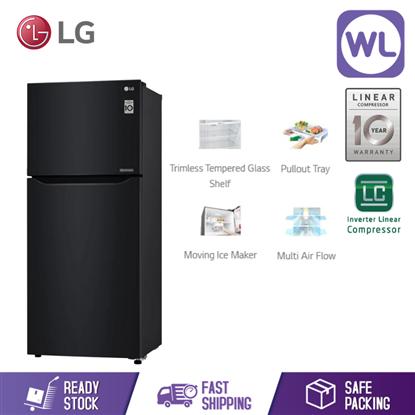 LG FRIDGE GN-B422SQWB (427L/ WESTERN BLACK)的图片