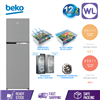 Picture of BEKO FRIDGE RDNT271I50VZS (BRUSHED SILVER)