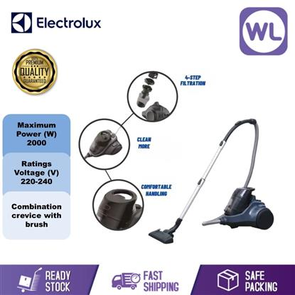 Picture of ELECTROLUX BAGLESS VACUUM CLEANER EC41-2DB (DENIM BLUE/ 2000W)