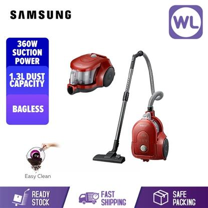 Picture of SAMSUNG BAGLESS VACUUM CLEANER VCC4353V4R/XME (PORSCHE RED/ 1800W)