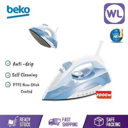 Picture of BEKO STEAM IRON SIM4118NS (2000W/ BLUE)