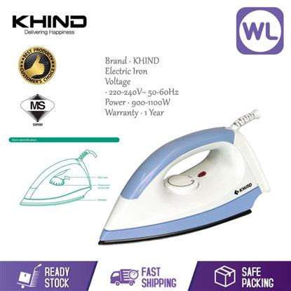 Picture of KHIND DRY IRON EI-402 (1000W)