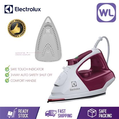 Picture of ELECTROLUX CERAMIC STEAM IRON ESI5226 (2400W/ RUBY RED)
