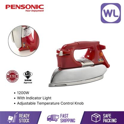 Picture of PENSONIC DRY IRON PI-500 (1200W/ RED)