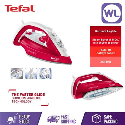 Picture of TEFAL ULTRAGLISS STEAM IRON FV4950 (2500W/CRUSHED RASPBERRY)