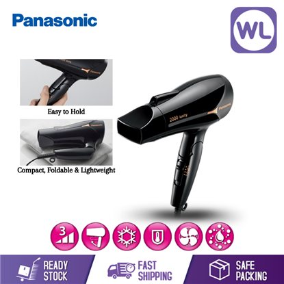 Picture of PANASONIC IONITY HAIR DRYER EH-NE65 (2000W/ BLACK)