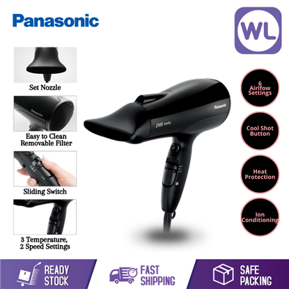 Picture of PANASONIC HIGH POWER IONITY HAIR DRYER EH-NE81 (2500W/ BLACK)