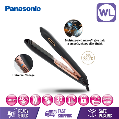 Picture of PANASONIC nanoe™ HAIR STRAIGHTENER EH-HS99-K (BLACK)