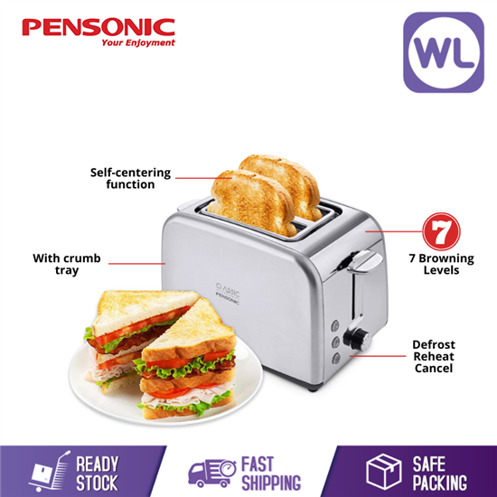 Picture of Online Exclusive   PENSONIC CLASSIC TOASTER PT-931SX
