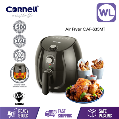 Picture of CORNELL AIR FRYER CAF-S35MT