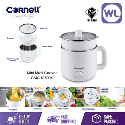 Picture of Online Exclusive | CORNELL MINI MULTI COOKER CMC-S1500X
