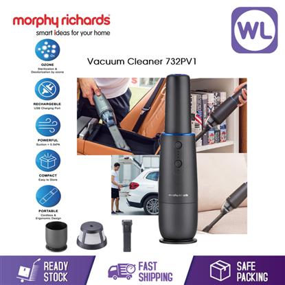 MORPHY RICHARDS PORTABLE VACUUM CLEANER 732PV1 (CORDLESS/ HANDHELD)的图片