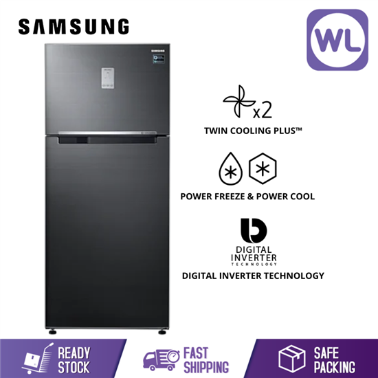 Picture of  SAMSUNG TOP MOUNT FREEZER RT53K6271BS/ME (620L/ BLACK)