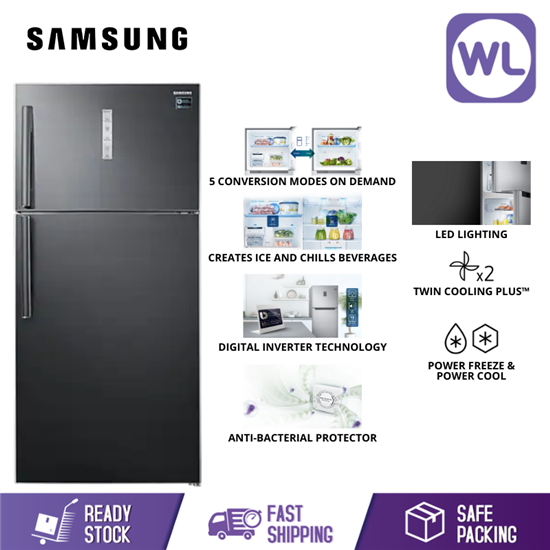 Picture of SAMSUNG TOP MOUNT FREEZER RT62K7005BS/ME (711L/ BLACK)
