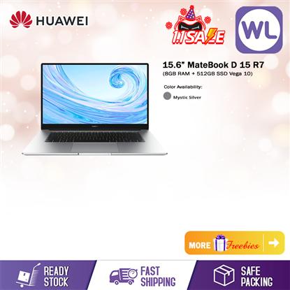 "Picture of Huawei MateBook D15 REBORN R7 15.6"" (8GB RAM+512GB ROM SSD AMD Ryzen 7 3700U)"