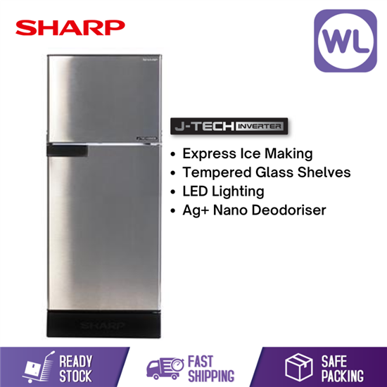 Picture of SHARP I-HUGGY REFRIGERATOR SJ189MSS (170L/ SILVER)