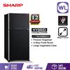 Picture of SHARP PELICAN REFRIGERATOR SJP60MFMK (610L/ BLACK)