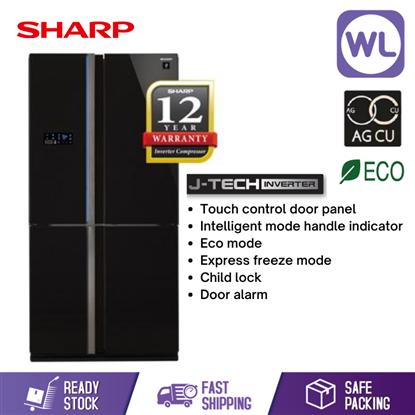 Picture of SHARP AVANCE REFRIGERATOR SJF104VGBK (740L/ BLACK)