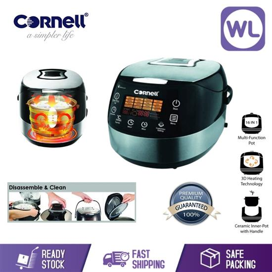 Picture of CORNELL MULTI COOKER CRC-JP185D