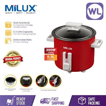 Picture of MILUX 0.3L MINI RICE COOKER MRC-703